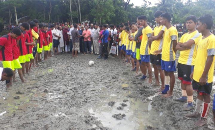 তজুমদ্দিনে বঙ্গবন্ধু গোল্ডকাপ ফুটবল টুনার্মেন্টের উদ্বোধন